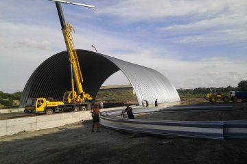 Frameless hangars